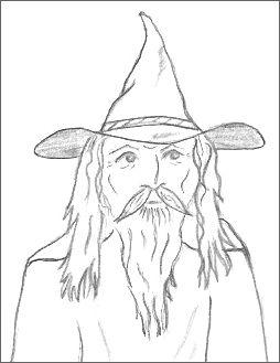 Wizard Drawings