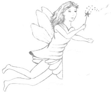 First Fairy Drawing