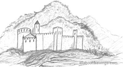 Castle Drawing
