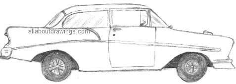 Drawing Of A Chevvy