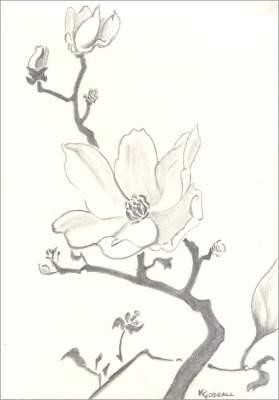 Blending in the Flowers