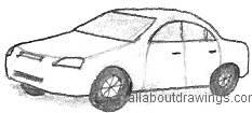 Sedan Drawing