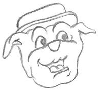 Cartoon Bulldog Drawings