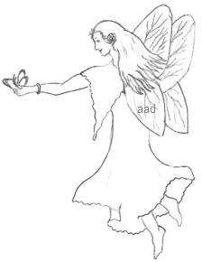 Drawings Of Fairies
