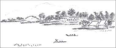 Easy sketch landscape