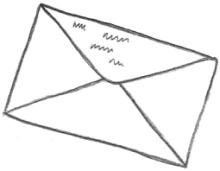 Envelope Drawing