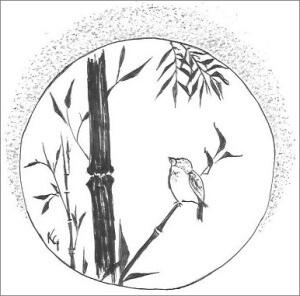Bird In Bamboo
