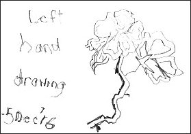 Left Handed Drawing