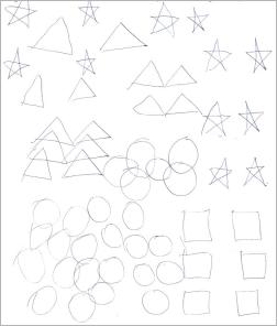 Drawing Shapes Both Hands