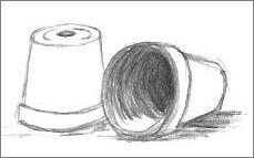 Line Drawing Pots