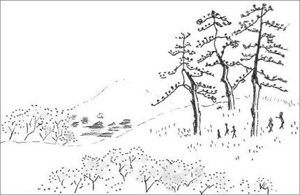 Oriental Style Drawings