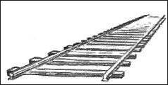 Railway Tracks Drawing