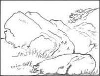 Rocks Drawing
