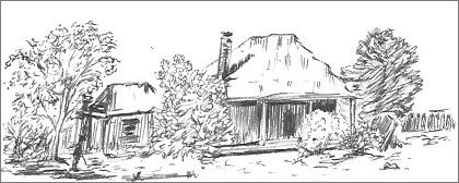 Old Farm Sketch