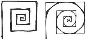 Square Circle Drawing