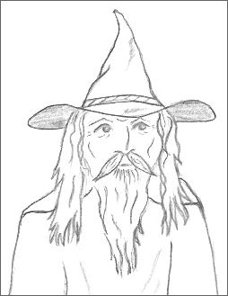 Wizard Drawings