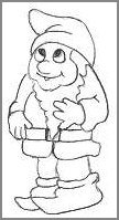 Drawing Of A Dwarf