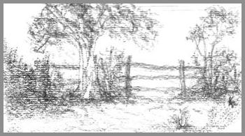 Landscape by left hand
