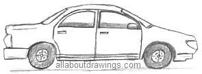 Sedan Sketch