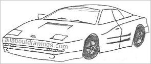 Cool Car Drawings To Copy
