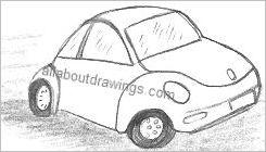 VW Drawing